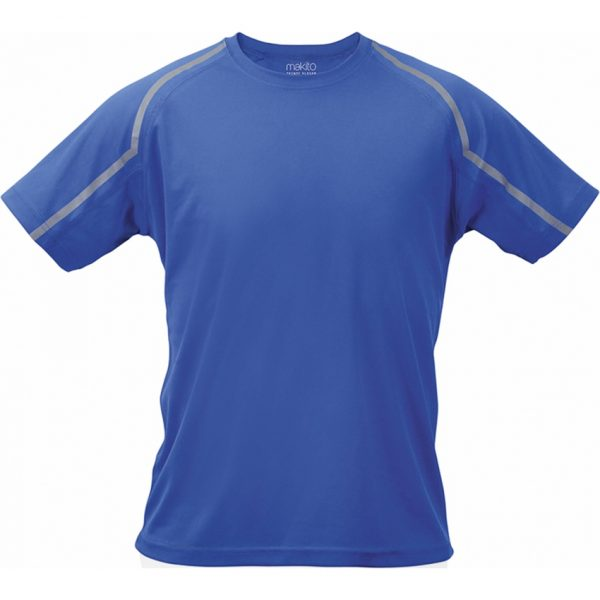 Camiseta Adulto Tecnic Fleser Makito - Azul