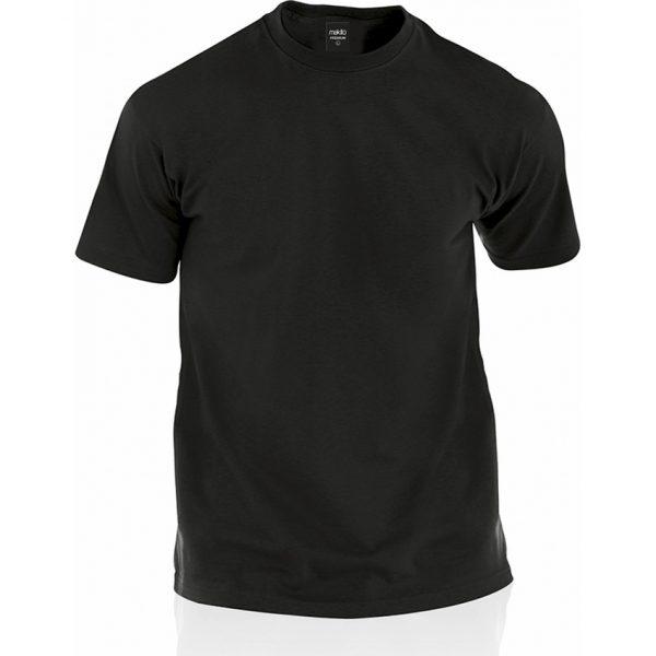 Camiseta Adulto Color Premium Makito - Negro