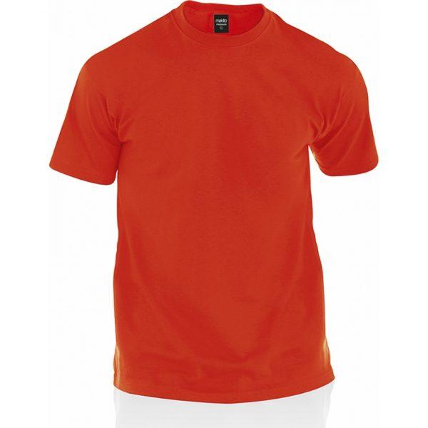 Camiseta Adulto Color Premium Makito - Rojo