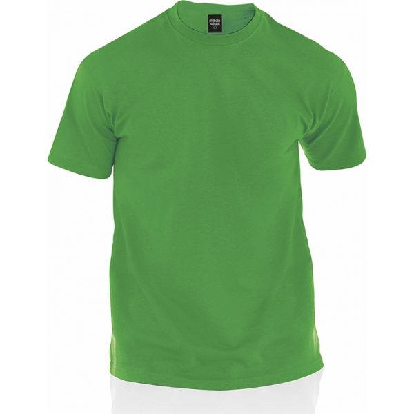 Camiseta Adulto Color Premium Makito - Verde