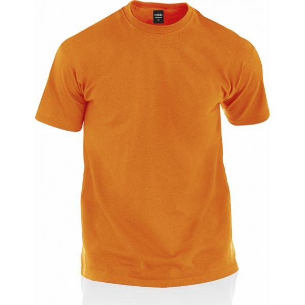 Camiseta Adulto Color Premium Makito - Naranja
