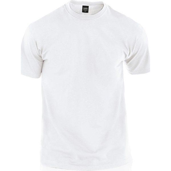 Camiseta Adulto Blanca Premium Makito - Blanco