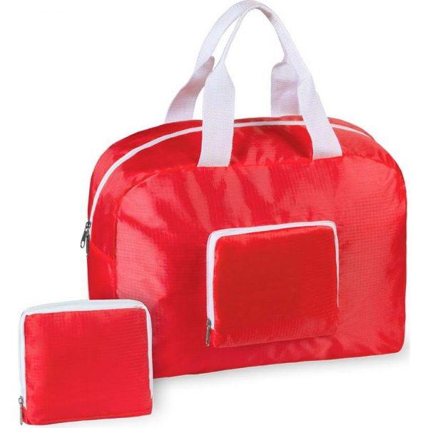 Bolso Plegable Sofet Makito - Rojo
