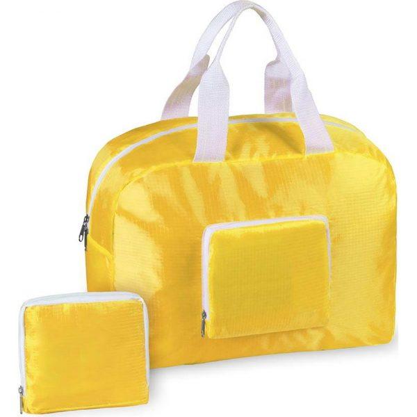 Bolso Plegable Sofet Makito - Amarillo