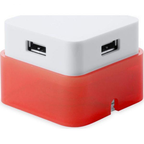 Puerto USB Dix Makito - Rojo