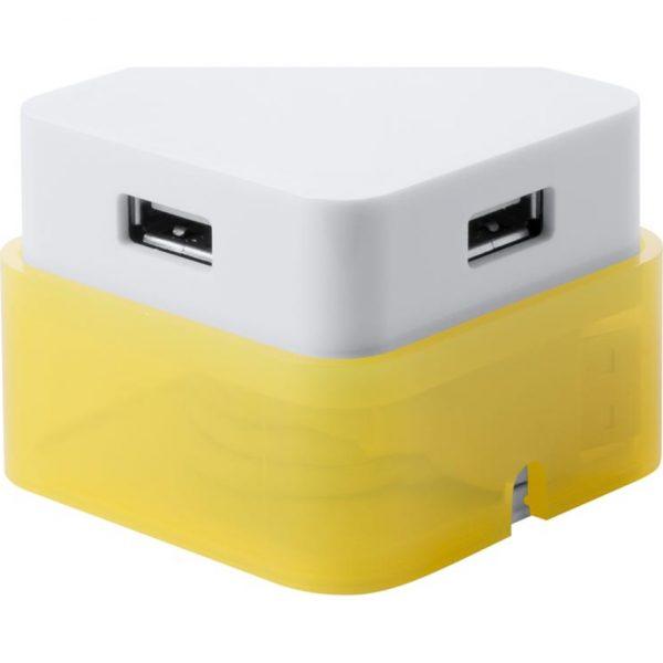 Puerto USB Dix Makito - Amarillo