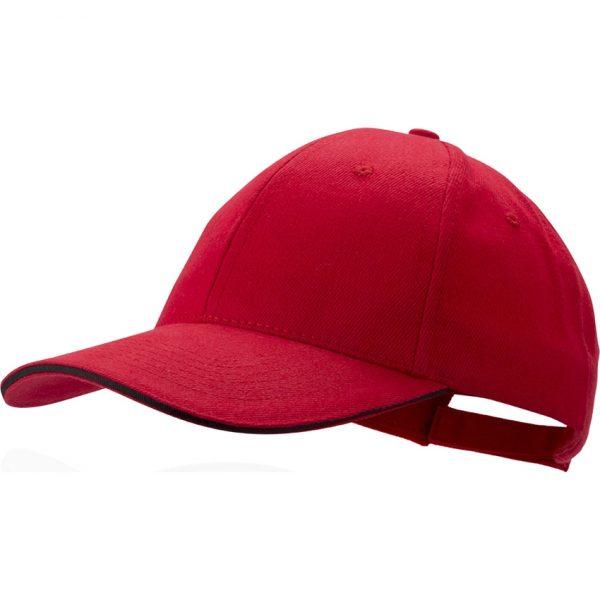 Gorra Rubec Makito - Rojo