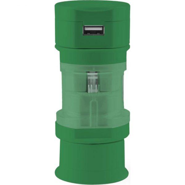 Adaptador Enchufes Tribox Makito - Verde