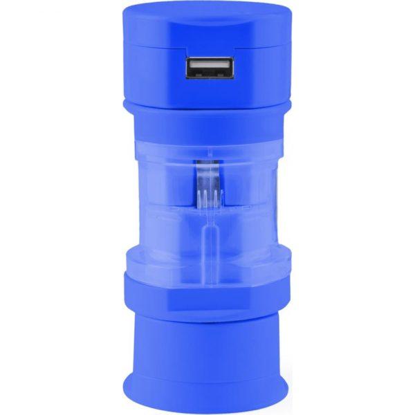 Adaptador Enchufes Tribox Makito - Azul