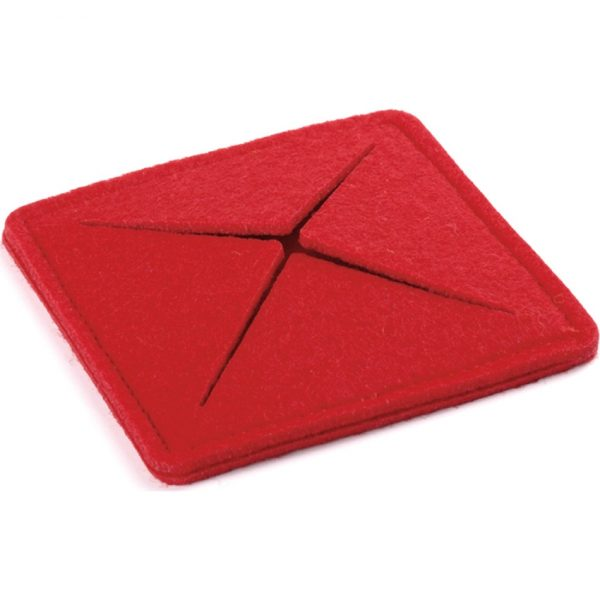 Posavasos Tanzak Makito - Rojo