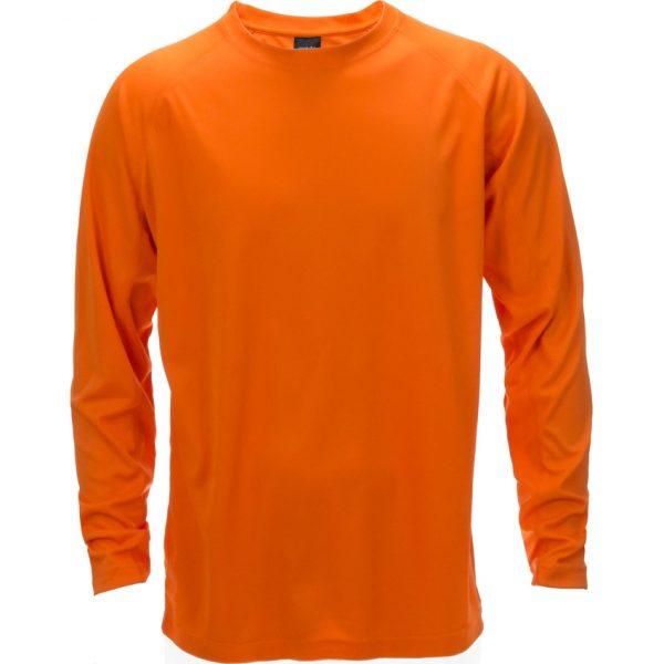 Camiseta Adulto Tecnik Maik Makito - Naranja