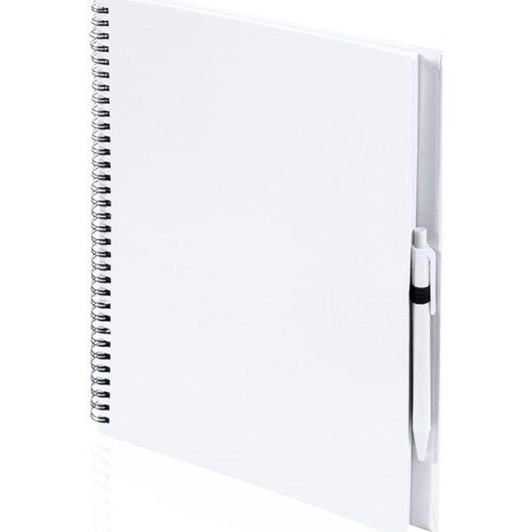 Libreta Tecnar Makito - Blanco