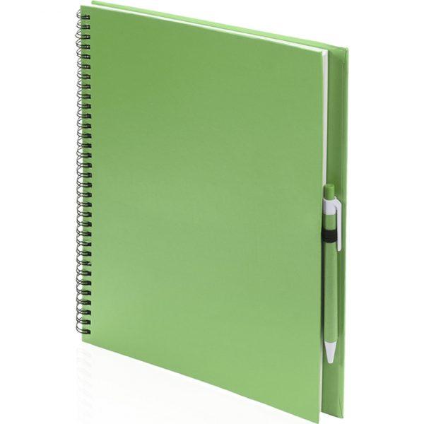 Libreta Tecnar Makito - Verde