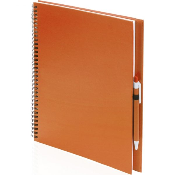 Libreta Tecnar Makito - Naranja