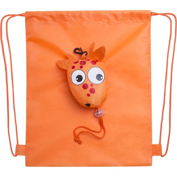 Mochila Plegable Kissa Makito - Naranja