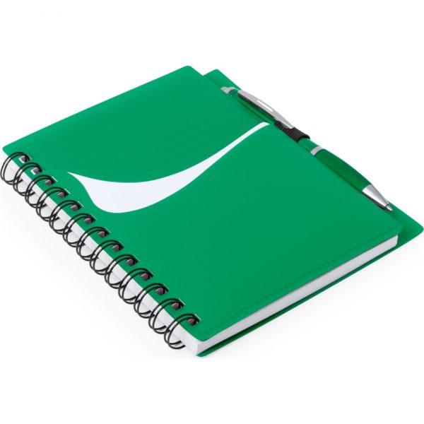 Libreta Dymas Makito - Verde