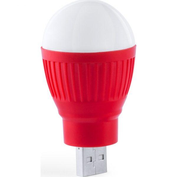 Lámpara USB Kinser Makito - Rojo