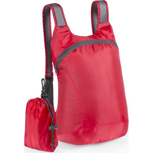 Mochila Plegable Ledor Makito - Rojo
