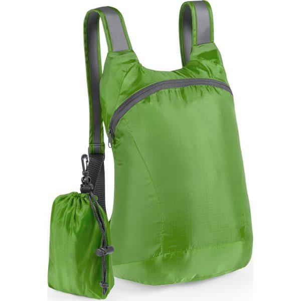 Mochila Plegable Ledor Makito - Verde Claro