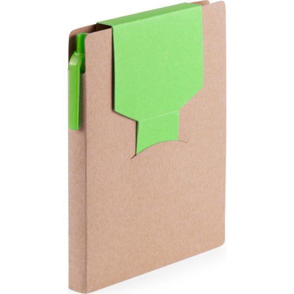 Bloc Notas Cravis Makito - Verde Claro