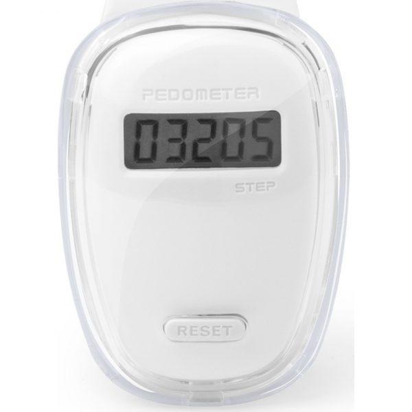 Podómetro Ferrium Makito - Blanco