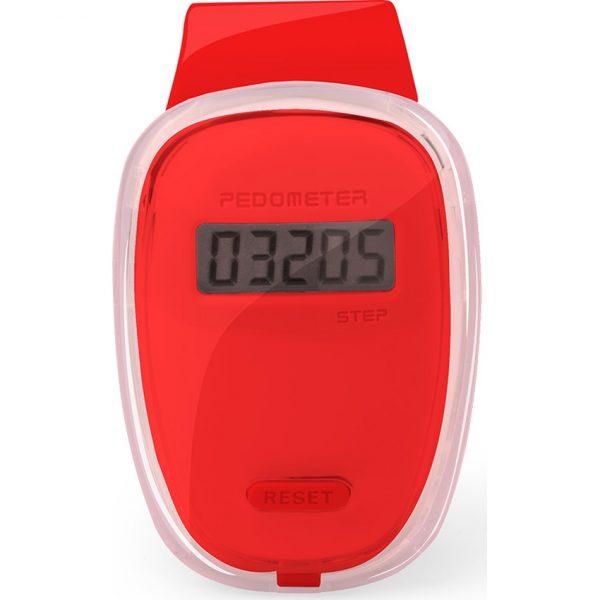 Podómetro Ferrium Makito - Rojo
