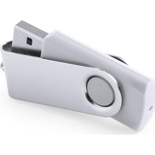 Memoria USB Rebik 16GB Makito - Blanco
