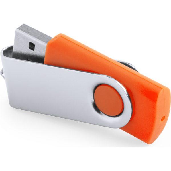 Memoria USB Rebik 16GB Makito - Naranja