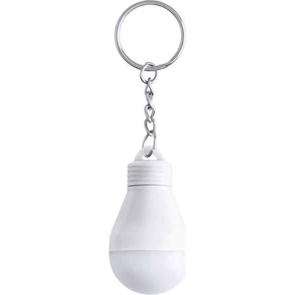 Llavero Linterna Blesak Makito - Blanco