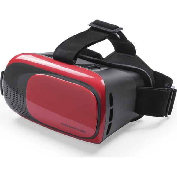 Gafas Realidad Virtual Bercley Makito - Rojo