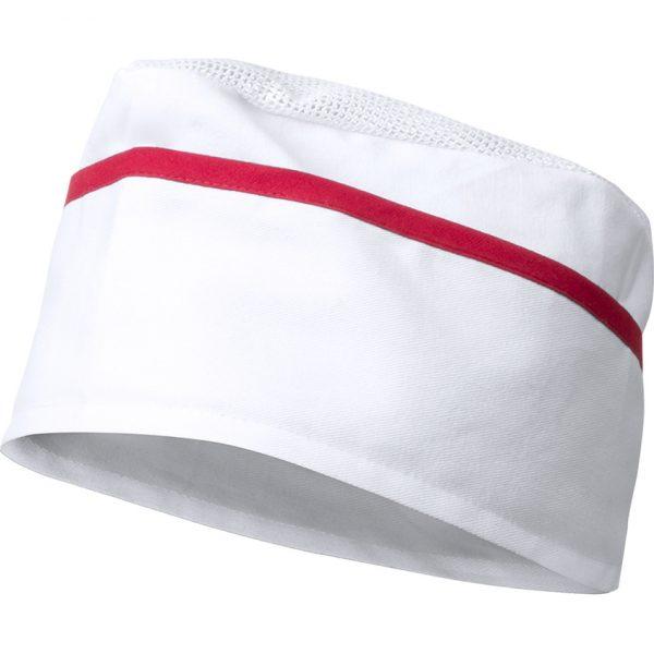 Gorro Painer Makito - Blanco / Rojo