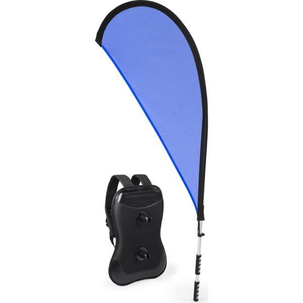 Mochila Portabandera Heldex Makito - Azul