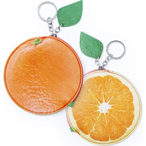 Monedero Kumba Makito - Naranja