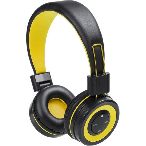 Auriculares Tresor Makito - Amarillo