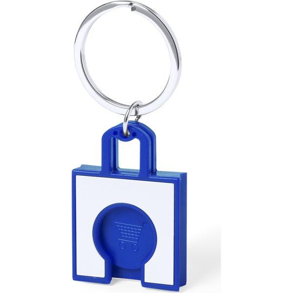 Llavero Moneda Fliant Makito - Azul