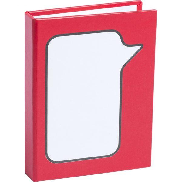 Bloc Notas Dosan Makito - Rojo