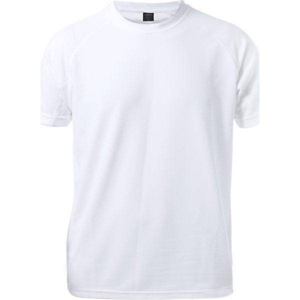 Camiseta Niño Kraley Makito - Blanco