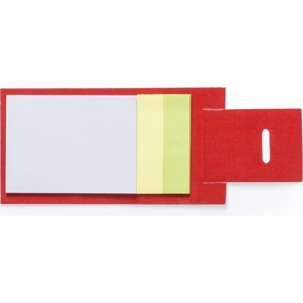 Portanotas Novich Makito - Rojo