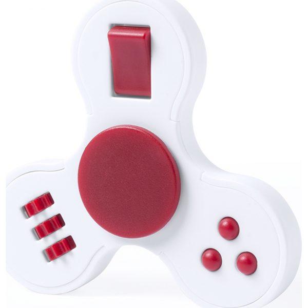 Fidget Spinner Fredd Makito - Rojo