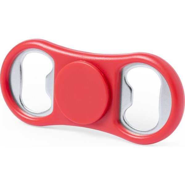 Fidget Spinner Abridor Slack Makito - Rojo