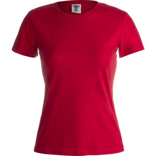 """Camiseta Mujer Color """"keya"""" WCS180 Keya - Rojo"""