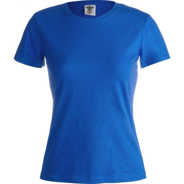 "Camiseta Mujer Color ""keya"" WCS180 Keya - Azul"