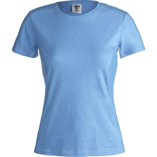 "Camiseta Mujer Color ""keya"" WCS180 Keya - Azul Claro"