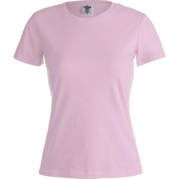 """Camiseta Mujer Color """"keya"""" WCS180 Keya - Rosa"""