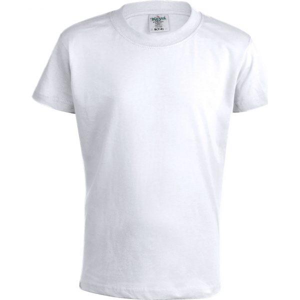 "Camiseta Niño Blanca ""keya"" YC150 Keya - Blanco"