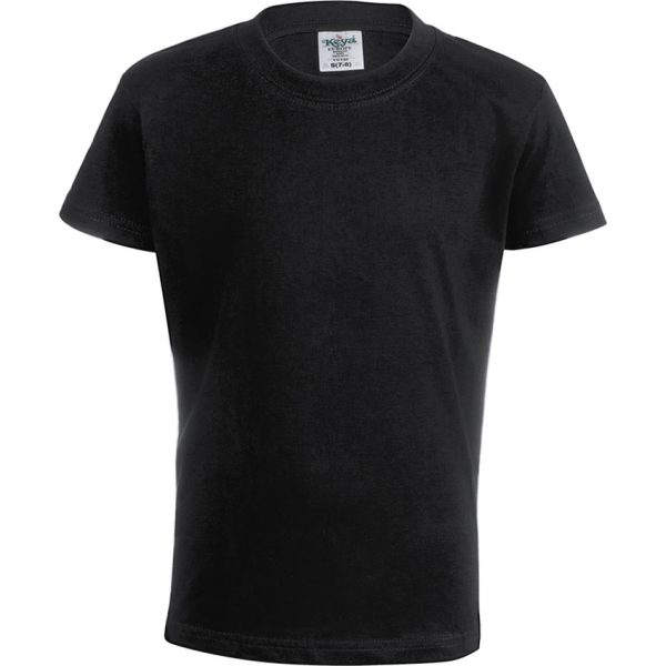 """Camiseta Niño Color """"keya"""" YC150 Keya - Negro"""