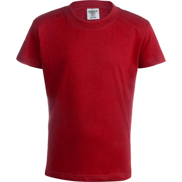 "Camiseta Niño Color ""keya"" YC150 Keya - Rojo"
