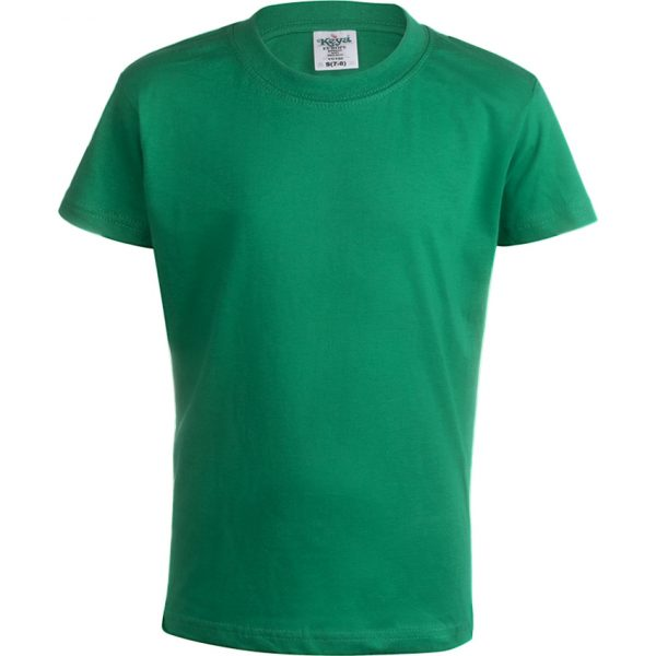 "Camiseta Niño Color ""keya"" YC150 Keya - Verde"