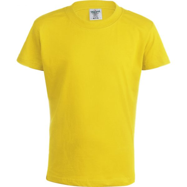 "Camiseta Niño Color ""keya"" YC150 Keya - Amarillo"