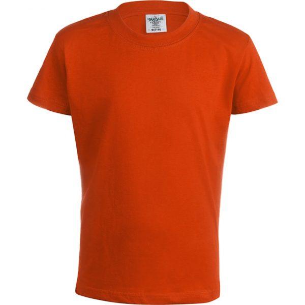 "Camiseta Niño Color ""keya"" YC150 Keya - Naranja"